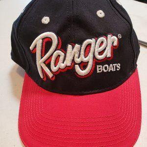 Black Red White Ranger Boats Baseball Hat